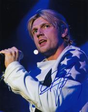 Nick Carter signed The Backstreet Boys Pop Music star 8x10 photo w/coa #3