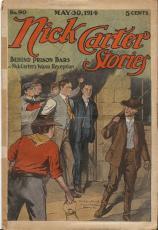 Nick Carter Stories #90 1914 Pulp Magazine Authentic