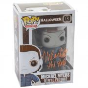Nick Castle Halloween Autographed #03 Funko POP! Signed in Orange - BAS