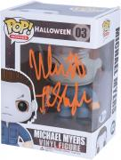 "Nick Castle Halloween Autographed #03 Funko Pop! with ""The Shape"" Inscription"