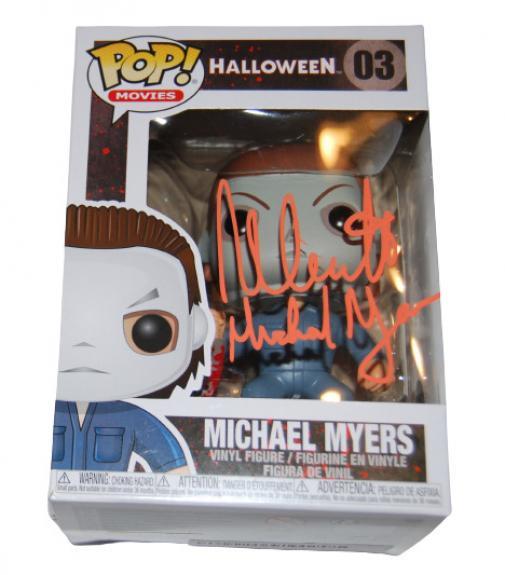 NICK CASTLE signed (HALLOWEEN) Michael Myers Funko Pop #03 BECKETT BAS (Proof)