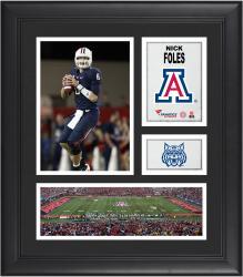 "Nick Foles Arizona Wildcats Framed 15"" x 17"" Collage"