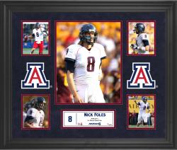 Nick Foles Arizona Wildcats Framed 5-Photo Collage