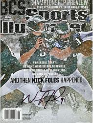 Nick Foles Philadelphia Eagles Autographed December 16, 2013 Sports Illustrated Magazine