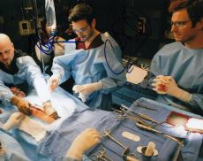 Nick Gehlfuss & Colin Donnell signed Chicago Med TV 8x10 photograph w/coa #NC2
