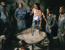 Nick Gomez Lew Temple and Vincent M. Ward signed The Walking Dead 8x10 w/coa #1