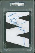 Nick Mason Pink Floyd Signed 4.5X6.5 Cut Autographed PSA/DNA Slabbed