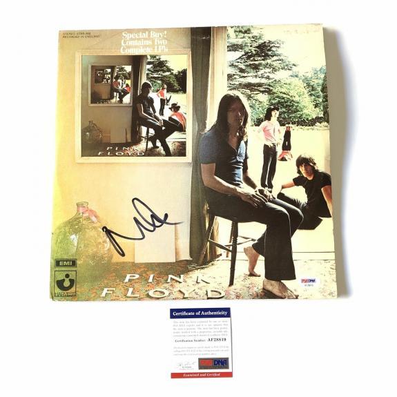 Nick Mason Signed Pink Floyd LP Vinyl PSA/DNA Album autographed Ummagumma