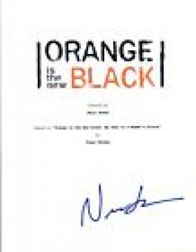 Nick Sandow Signed Autographed ORANGE IS THE NEW BLACK Pilot Script COA VD