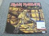 Nicko McBrain Iron Maiden Autograph Signed LP Poster Flat Poster PSA Certified 2