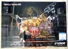 Nicko McBrain Iron Maiden Signed Autographed 16.5x23.25 Poster Beckett Certified