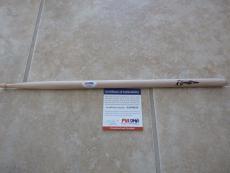NICKO MCBRAIN Iron Maiden Signed Autographed Drumstick PSA Certified #2
