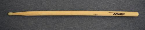 Nicko McBrain Signed Autographed Drumstick IRON MAIDEN Drummer Beckett BAS COA