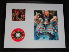 Nicko McBrain Signed Framed 16x20 Iron Maiden CD & Photo Display