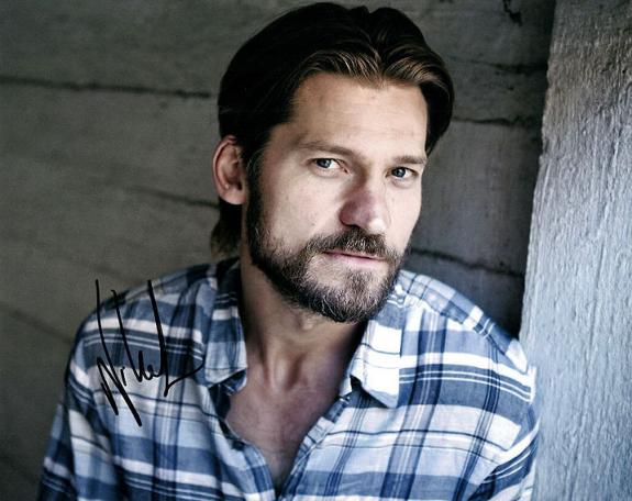 Nicolaj Coster-Waldau Game Of Thrones Signed Autographed Photo