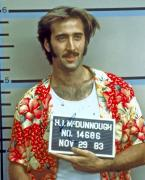 Nicolas Cage Autographed Signed Mug Shot Photo UACC RD AFTAL