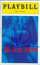 Nicole Kidman autographed Broadway Playbill The Blue Room
