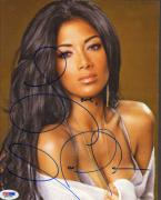 Nicole Scherzinger Autographed Beauty Photo UACC RD PSA/DNA AFTAL