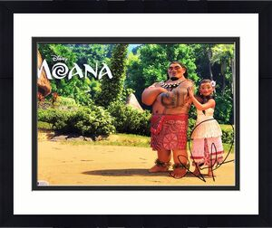 Nicole Scherzinger Signed 'Moana' 11x14 Photo BAS Beckett D46115