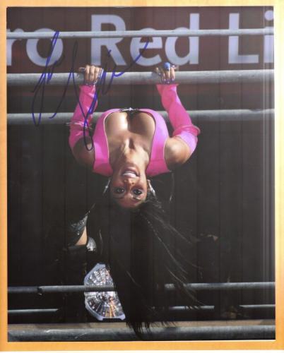 Nicole Scherzinger-signed photo-22 - JSA COA