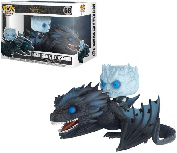 Night King & Icy Viserion Game of Thrones #58 Funko Pop!