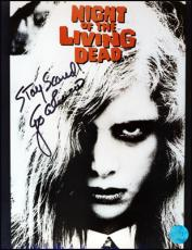 Night of the Living Dead Autographed by director George Romero 8x10 Photo