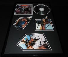 Night Ranger Group Signed Framed 11x17 Greatest Hits CD Display