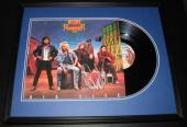 Night Ranger Group Signed Framed 1987 Big Life Album JSA