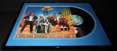 Night Ranger Group Signed Framed 1987 Big Life Record Album Display