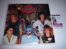 Night Ranger Midnight Madness 3sigs Jsa/coa Signed Lp Record Album