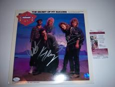 Night Ranger Secret Of My Success 3sigs Jsa/coa Signed Lp Record Album