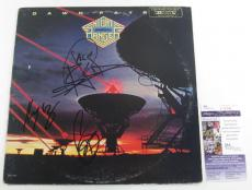 Night Ranger Signed LP Record Album Dawn Patrol 3 JSA AUTOS