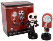 Nightmare Before Christmas Jack and Sally Salt and Pepper Shaker Set