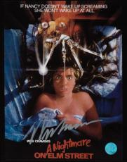 Nightmare on Elm Street Autographed by director Wes Craven 8x10 Photo