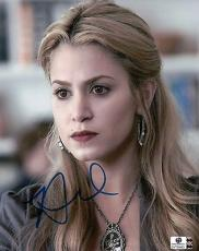 Nikki Reed Hand Signed Autographed 8X10 Photo Twilight Cute Close-Up GA769453