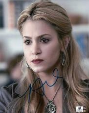 Nikki Reed Hand Signed Autographed 8X10 Photo Twilight Cute Close-Up GA769454