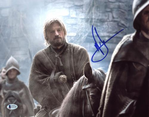 Nikolaj Coster-Waldau Game Of Thrones Signed 11X14 Photo BAS #C57720