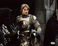 Nikolaj Coster-Waldau Game Of Thrones Signed 11X14 Photo PSA #W24480