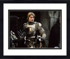 Nikolaj Coster-Waldau Game Of Thrones Signed 11X14 Photo PSA #W24480