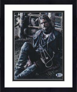 Nikolaj Coster Waldau Signed 8x10 Photo Game Thrones Beckett Bas Autograph B