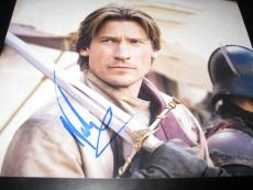 NIKOLAJ COSTER WALDAU SIGNED AUTOGRAPH 8x10 GAME OF THRONES IN PERSON COA X3