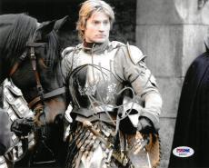 Nikolaj Coster-Waldau Signed Game of Thrones Auto 8x10 Photo PSA/DNA #AB63847