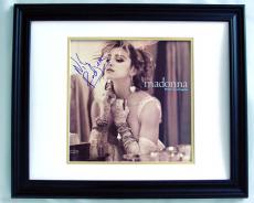 NILE RODGERS Autographed Album Cover - Madonna Producer
