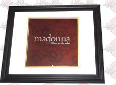 Nile Rodgers Signed Madonna Like A Virgin Album Flat 12x12 Poste AFTAL