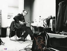 Nils Lofgren Bruce Springsteen E Street Band Signed 11x14 Photo PSA DNA COA Auto