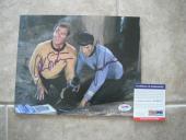 Nimoy Shatner Star Trek Spock Kirk Signed Autographed 8x10 Photo PSA Certified