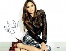 Nina Dobrev Sexy Signed Authentic Autographed 11x14 Photo PSA/DNA #AA37826