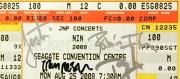 Nine Inch Nails Trent Reznor Band Signed Autograph PSA/DNA Authentic Ticket Stub