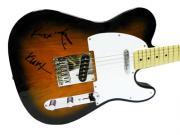 Nirvana Autographed Facsimile Signed Fender Guitar Kurt Cobain David Grohl Krist