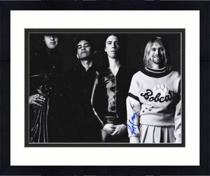 Nirvana Grohl Novaselic Smear Signed x3 11x14 Poster Picture UACC RD AFTAL